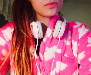 exams, ombre, and pink image