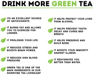 drink, green tea, and healthy image