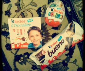 chocolate, surprise, and kinder image