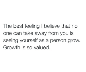 feelings, growth, and person image
