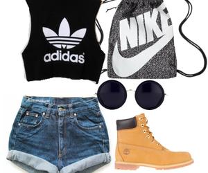 adidas, nike, and fashion image