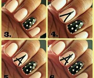 nails, paris, and diy image