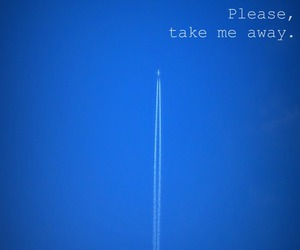 plane, please, and airplane image