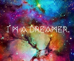 dreamer, Dream, and galaxy image