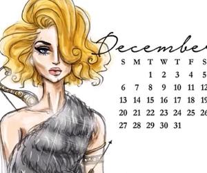 art, december, and sketch image