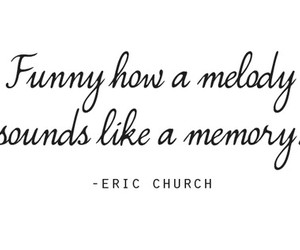 quote, melody, and memory image