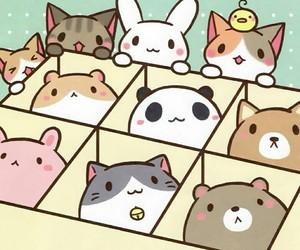 kawaii, cute, and animal image