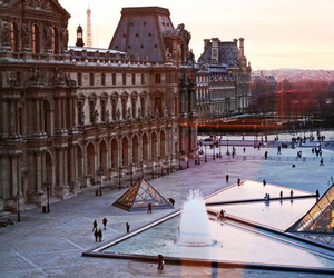 art, city, and parigi image