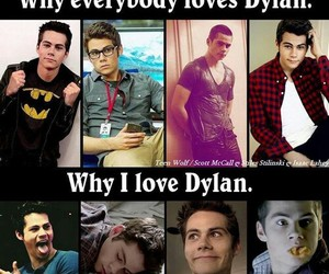 dylan, teen wolf, and everybody image