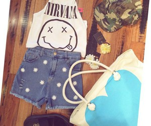 heart, nirvana, and outfit image