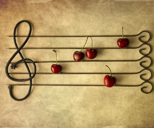 cherry and music image