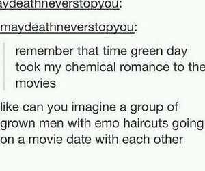 green day, my chemical romance, and frank iero image