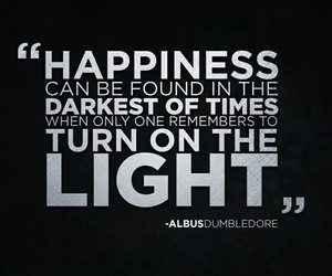 happiness, quote, and harry potter image