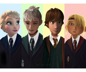 art, hiccup, and astrid image