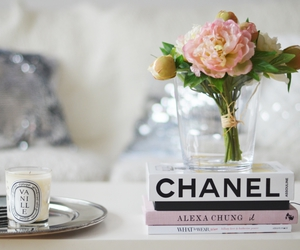 flowers, chanel, and girly image