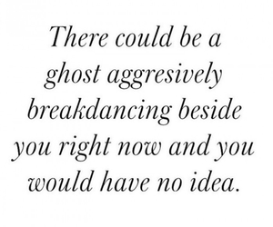 ghost, funny, and quotes image