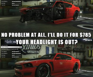 car, grand theft auto, and troll image