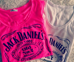 pink and jack daniel's image