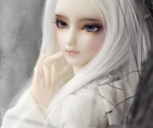 adorable, doll, and ball jointed doll image