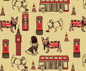 london, dog, and wallpaper image