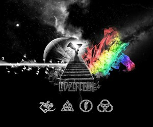 led zeppelin, Pink Floyd, and rock image