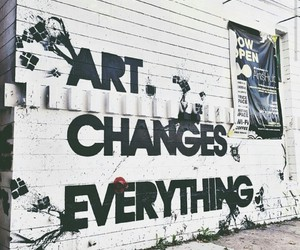 art, changes, and everything image