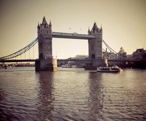 london, tower bridge, and meus image