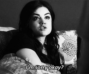 sorry, pretty little liars, and pll image