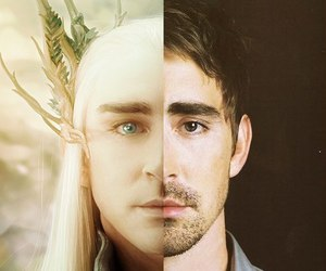 lee pace, hobbit, and thranduil image