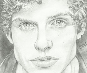 draw, sexy, and teen wolf image