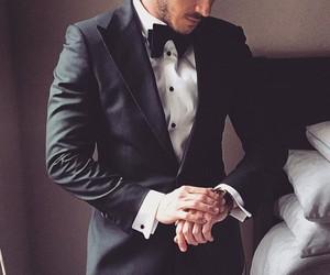 suit, man, and gentleman image