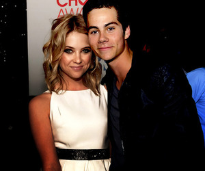 ashley benson, dylan o'brien, and pretty little liars image