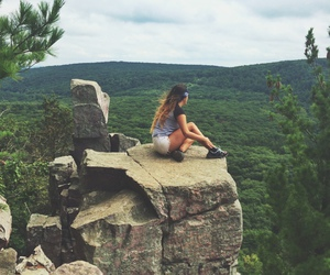 adventure and girl image
