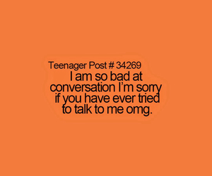 bad, conversation, and problems image