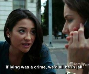 emily, true, and pretty little liars image