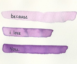 love, quotes, and purple image
