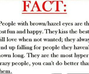 brown eyes, eyes, and fact image