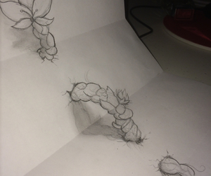 3d and drawing image