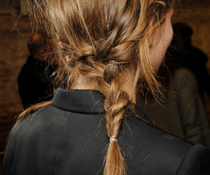 braid, girl, and model image