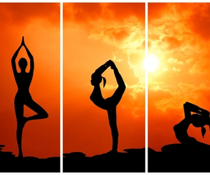 yoga and pose image