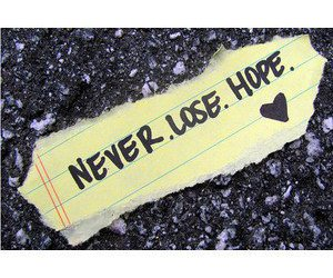 hope and never image