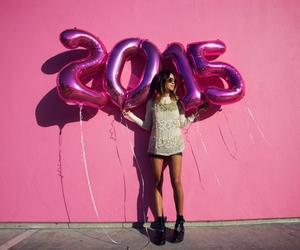 fashion, pink, and 2015 image