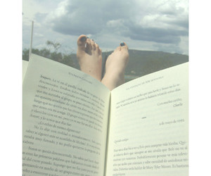 book, pretty, and relax image