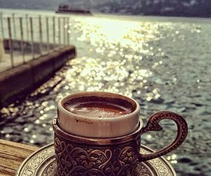 coffee and sea image