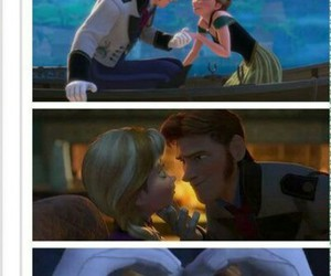 disney, frozen, and gloves image