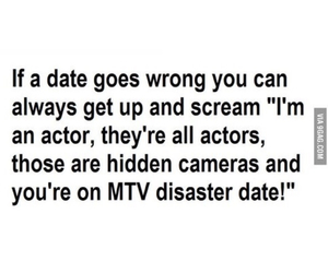 funny, mtv, and date image