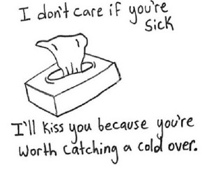 love, sick, and kiss image