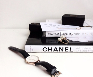 book, chanel, and goals image