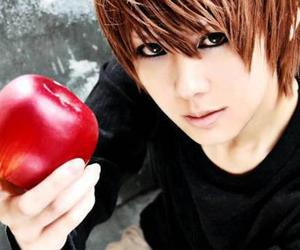 cosplay, death note, and light image