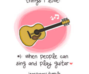 guitar, love, and music image